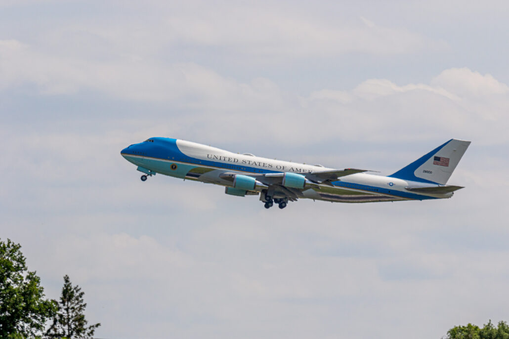 US Air Force Boeing VC-25 Air Force One