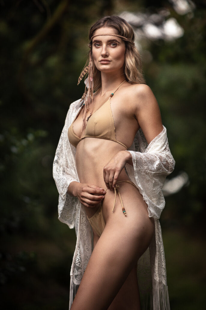 Bohemian Shoot with Model Catalina