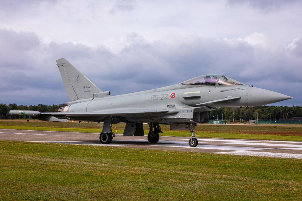 Eurofighter Typhoon at Kleine Brogel AB