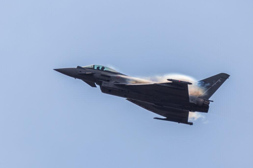 Eurofighter Typhoon at Sanicole Airshow